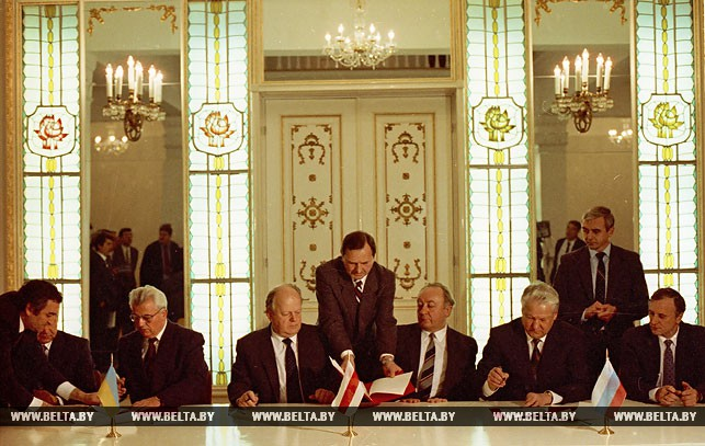 Беловежская Пуща Договор 1991