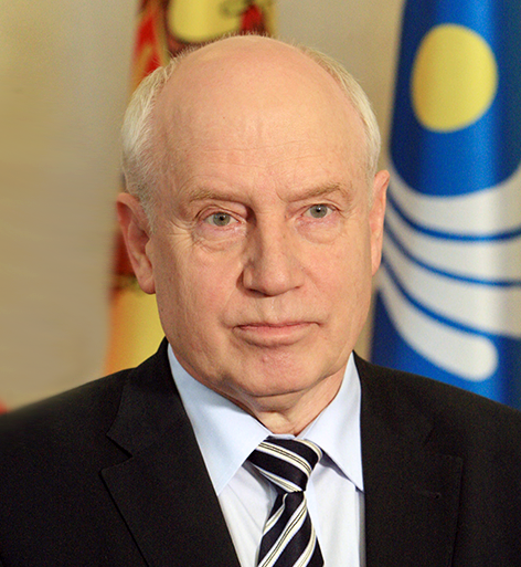 Сергей Лебедев - Председатель Исполнительного комитета - Исполнительный секретарь Содружества Независимых Государств